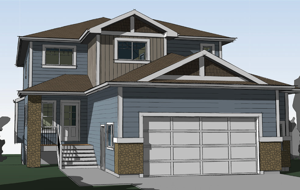The ruby iron ring family homes Modified bi level plans